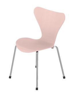 Roze designstoel Fritz Hansen