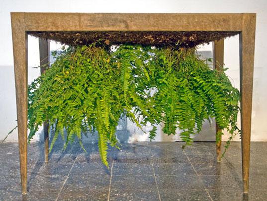 Planten ondersteboven