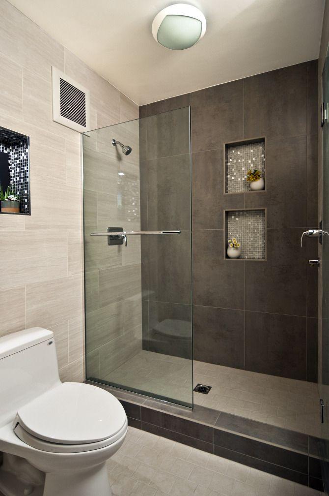 Je badkamer: de juiste douche voor een kleine badkamer  Huis en ...