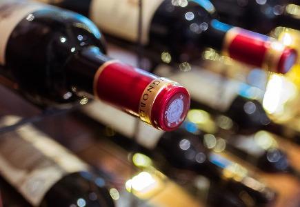 moderne wijnkelder